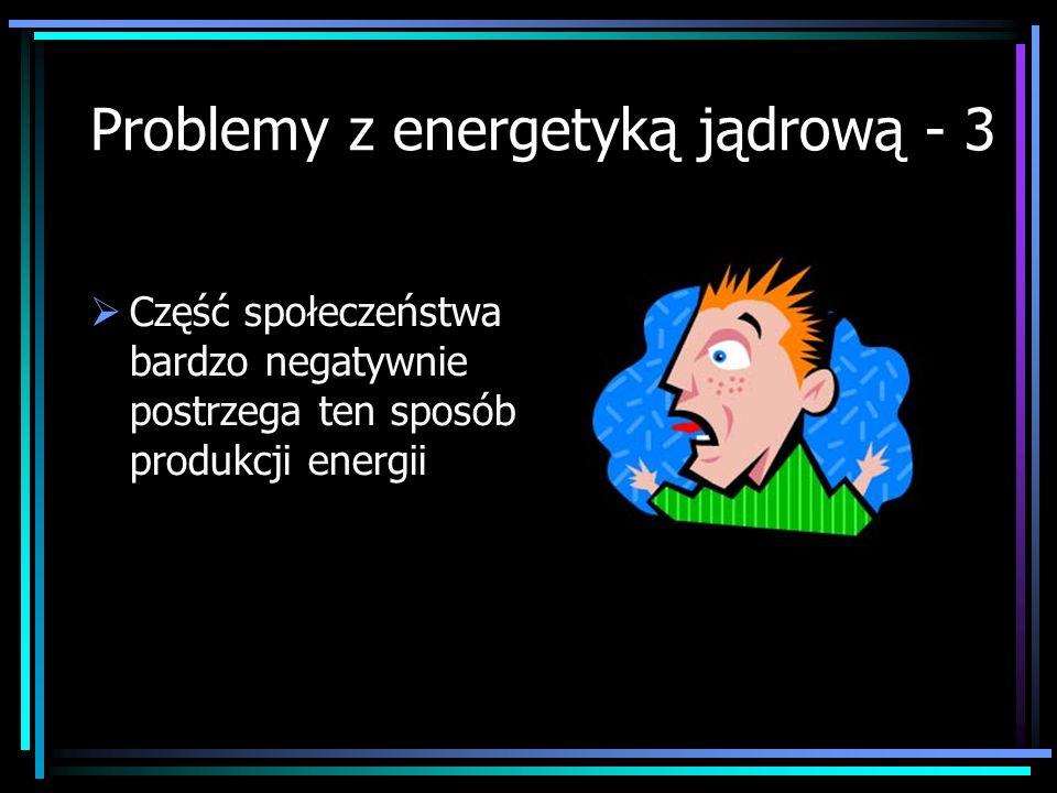 Problemy z energetyką jądrową - 3
