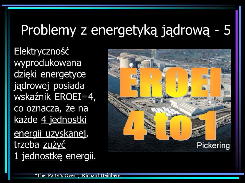Problemy z energetyką jądrową - 5