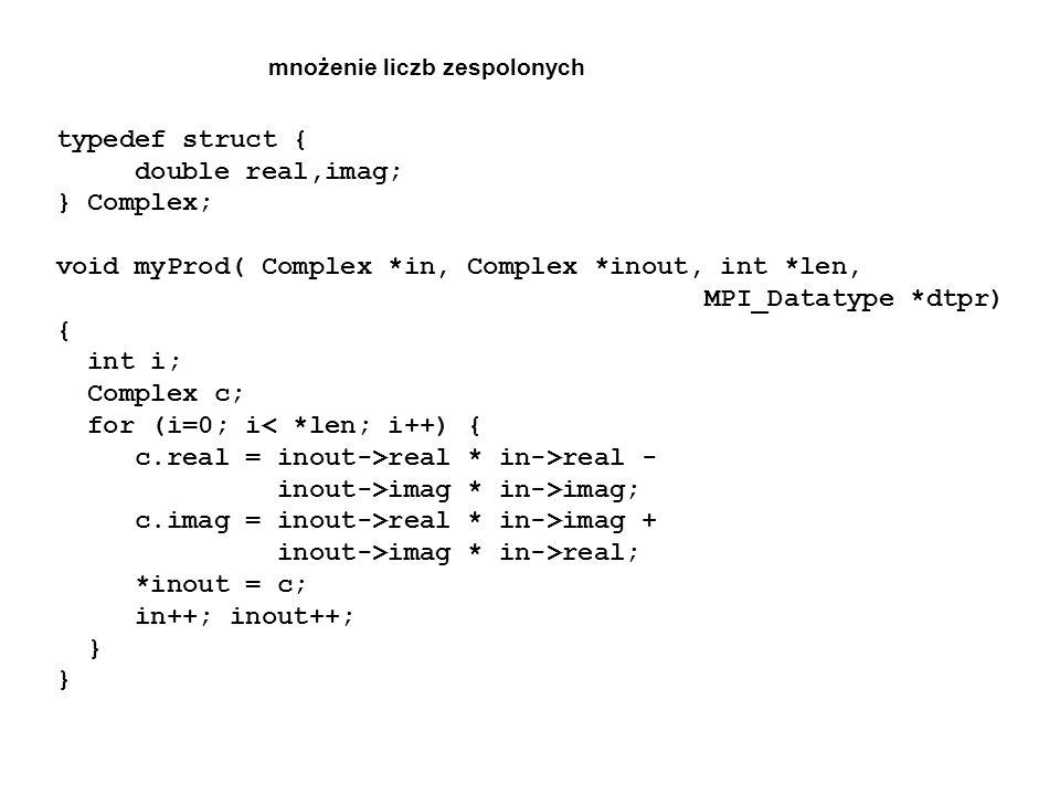 void myProd( Complex *in, Complex *inout, int *len,
