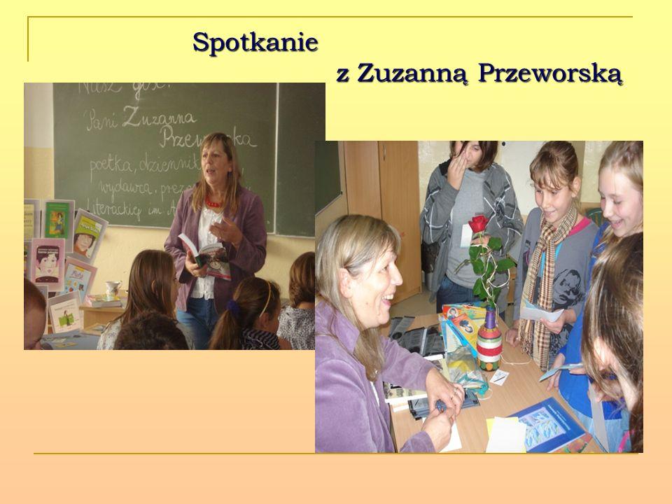 Spotkanie z Zuzanną Przeworską