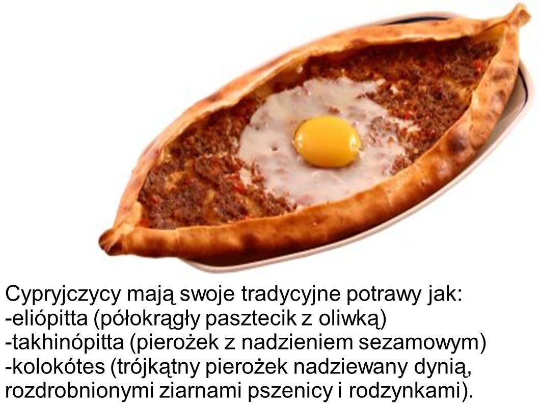 Cypryjczycy mają swoje tradycyjne potrawy jak: