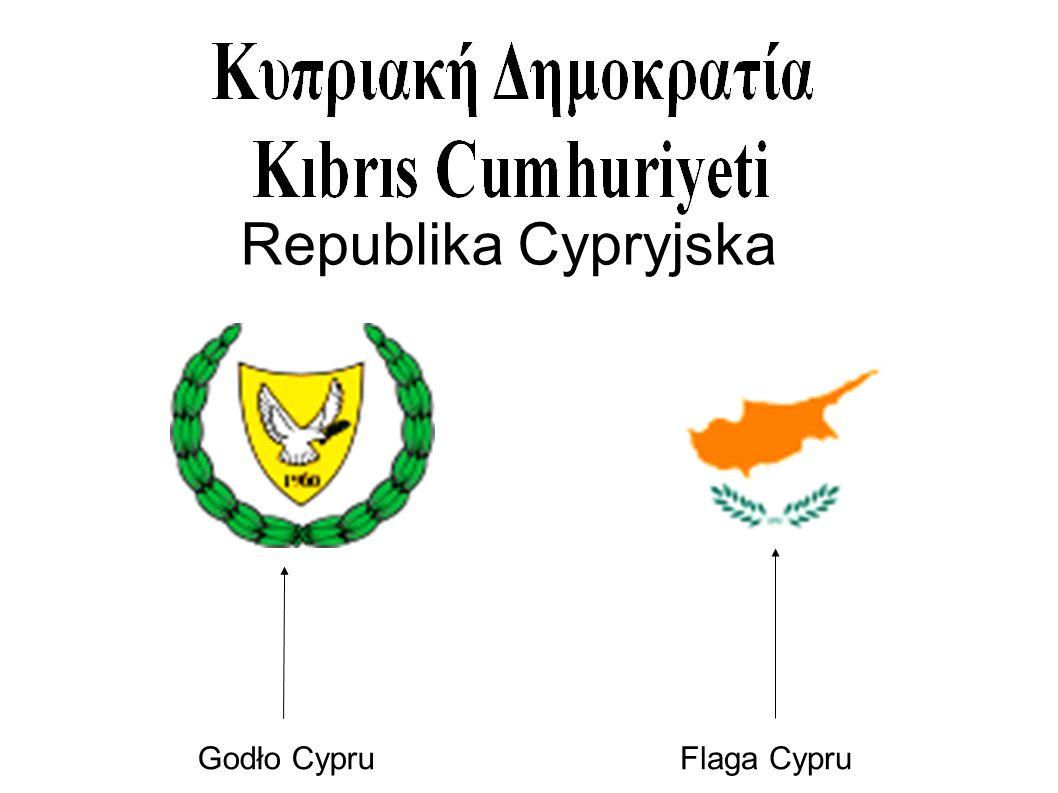 Republika Cypryjska Godło Cypru Flaga Cypru