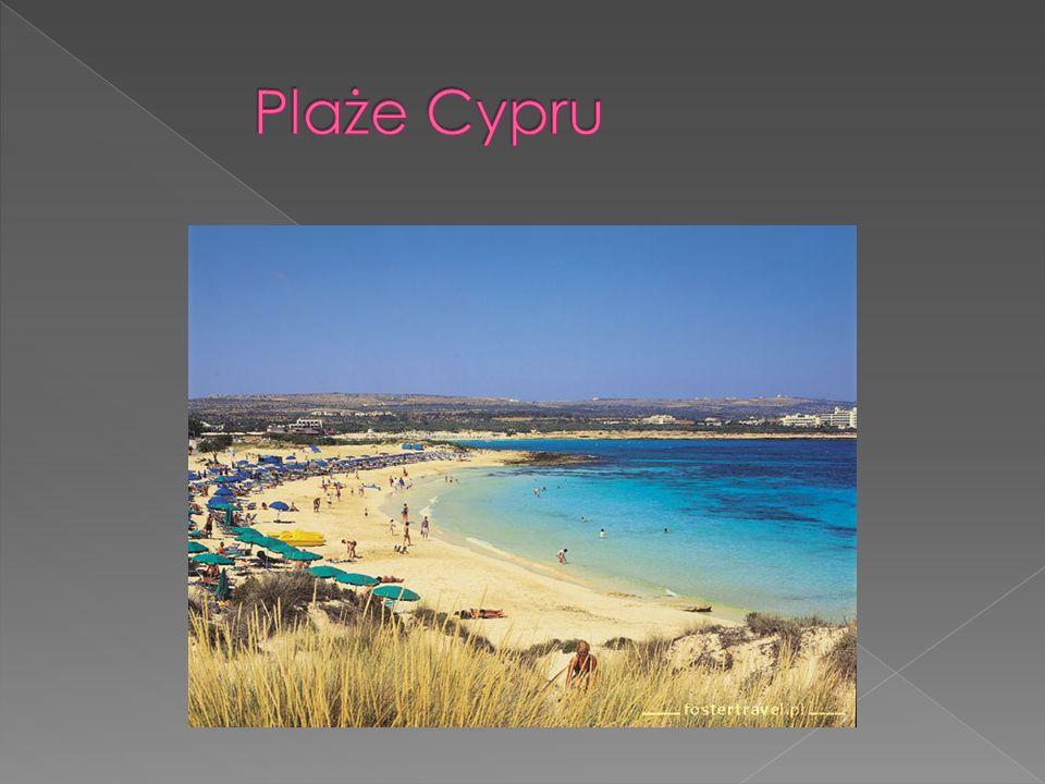 Plaże Cypru