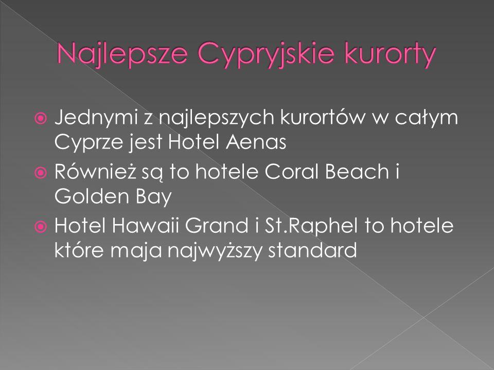 Najlepsze Cypryjskie kurorty