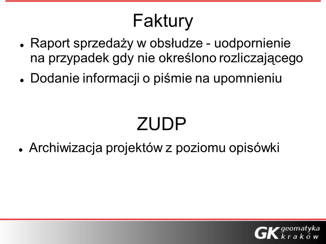 FakturyRaport sprzedaży w obsłudze - uodpornienie na przypadek gdy nie określono rozliczającego. Dodanie informacji o piśmie na upomnieniu.