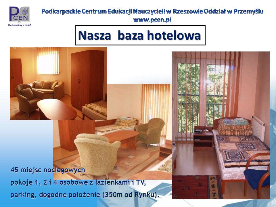 Nasza baza hotelowa 45 miejsc noclegowych