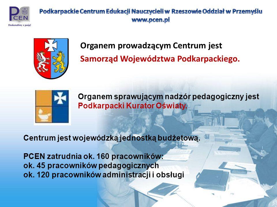 Organem prowadzącym Centrum jest Samorząd Województwa Podkarpackiego.