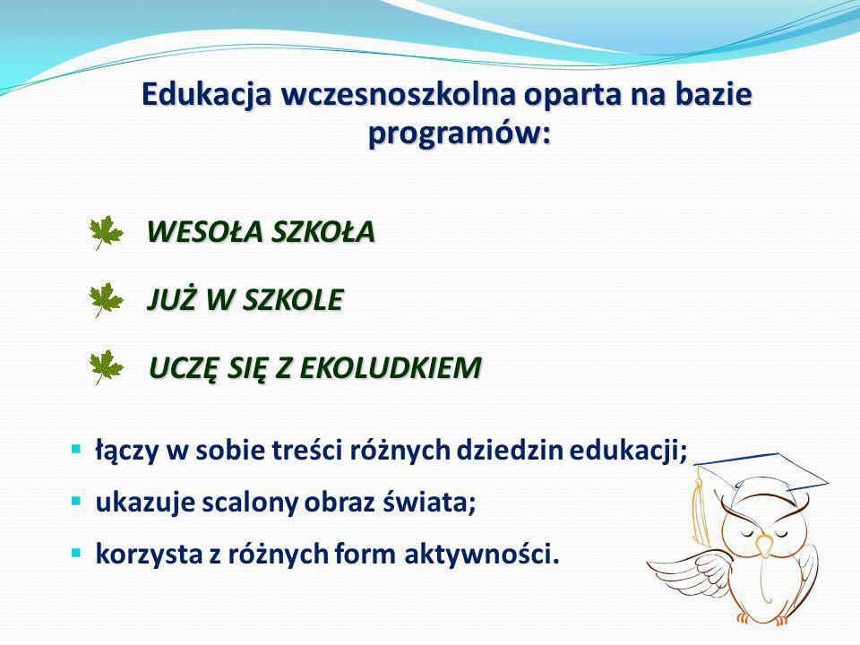 Edukacja wczesnoszkolna oparta na bazie programów: