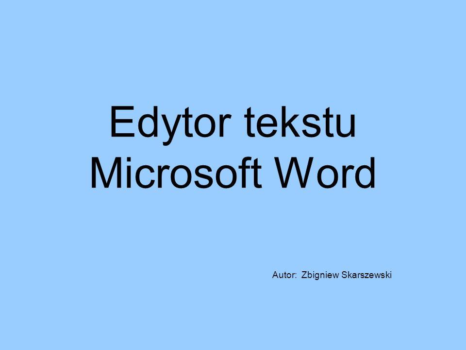 Edytor tekstu Microsoft Word