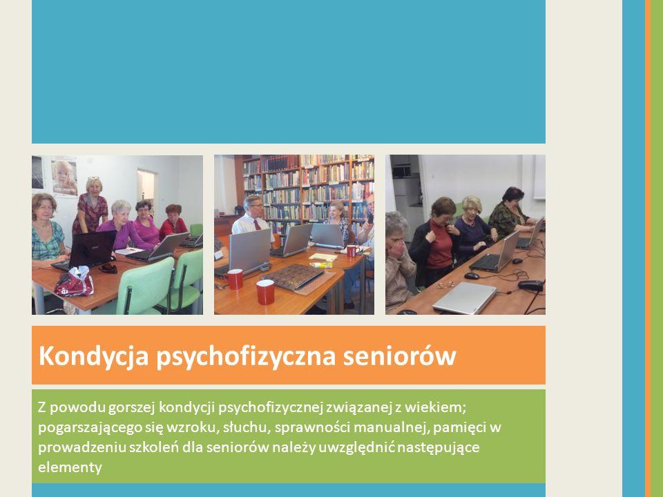 Kondycja psychofizyczna seniorów