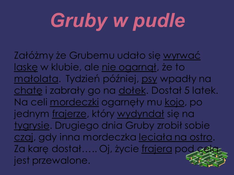 Gruby w pudle
