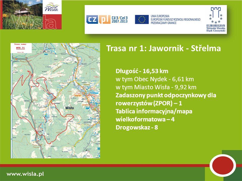 Trasa nr 1: Jawornik - Střelma