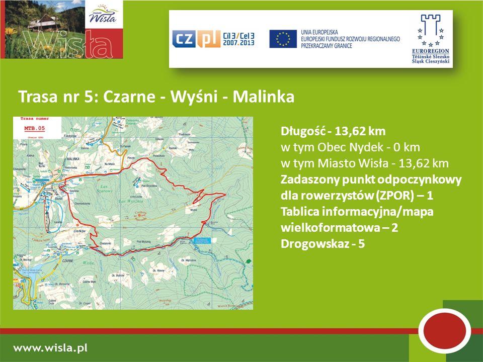 Trasa nr 5: Czarne - Wyśni - Malinka