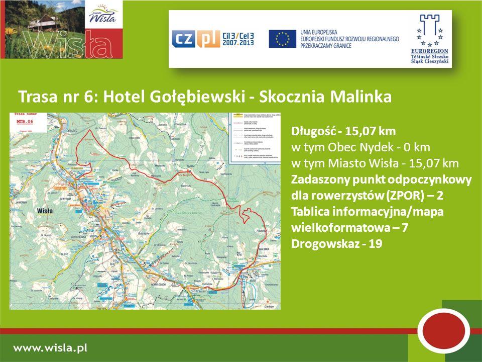 Trasa nr 6: Hotel Gołębiewski - Skocznia Malinka