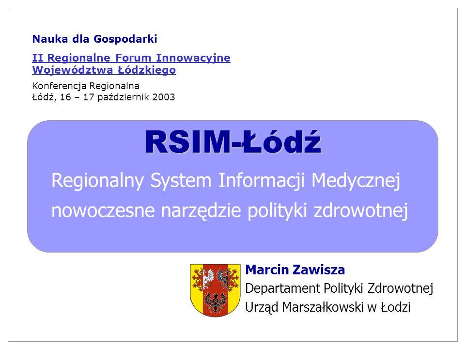RSIM-Łódź Regionalny System Informacji Medycznej