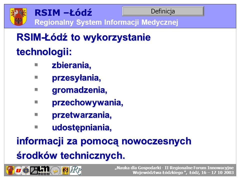 RSIM-Łódź to wykorzystanie technologii:
