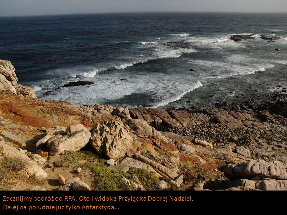 Zacznijmy podróż od RPA. Oto i widok z Przylądka Dobrej Nadziei.