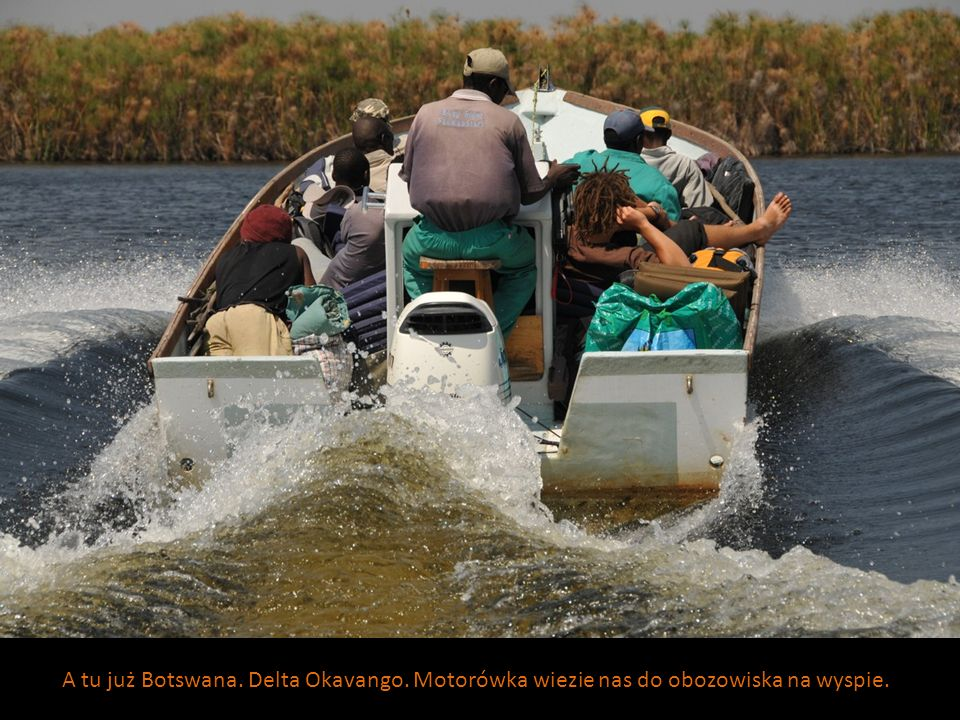 A tu już Botswana. Delta Okavango