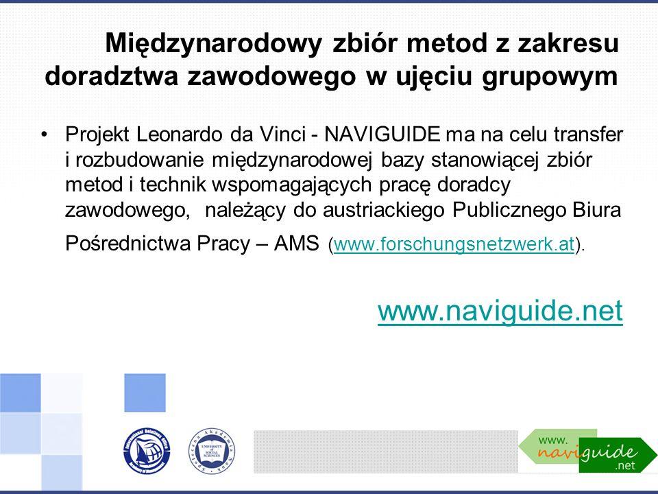Międzynarodowy zbiór metod z zakresu doradztwa zawodowego w ujęciu grupowym