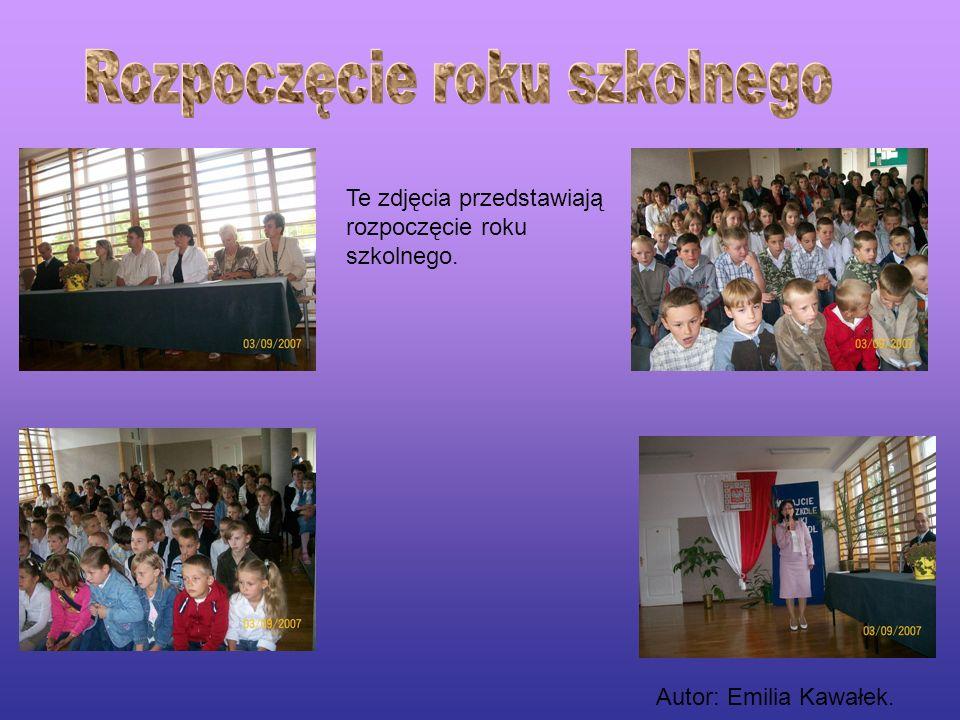 Rozpoczęcie roku szkolnego