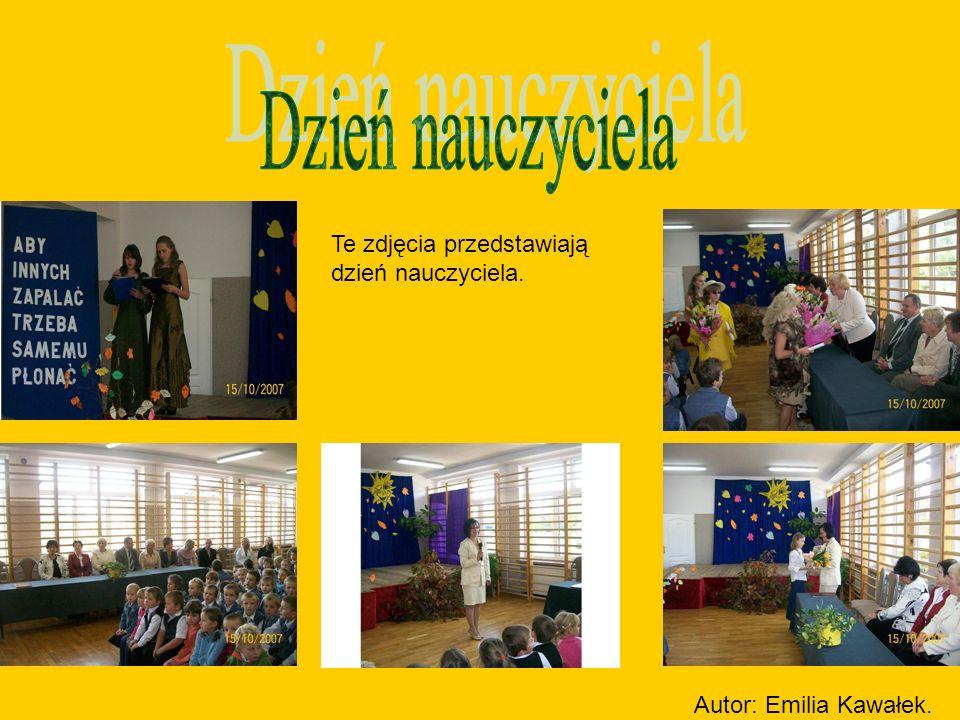 Dzień nauczyciela Te zdjęcia przedstawiają dzień nauczyciela.