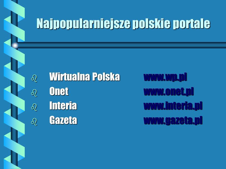 Najpopularniejsze polskie portale