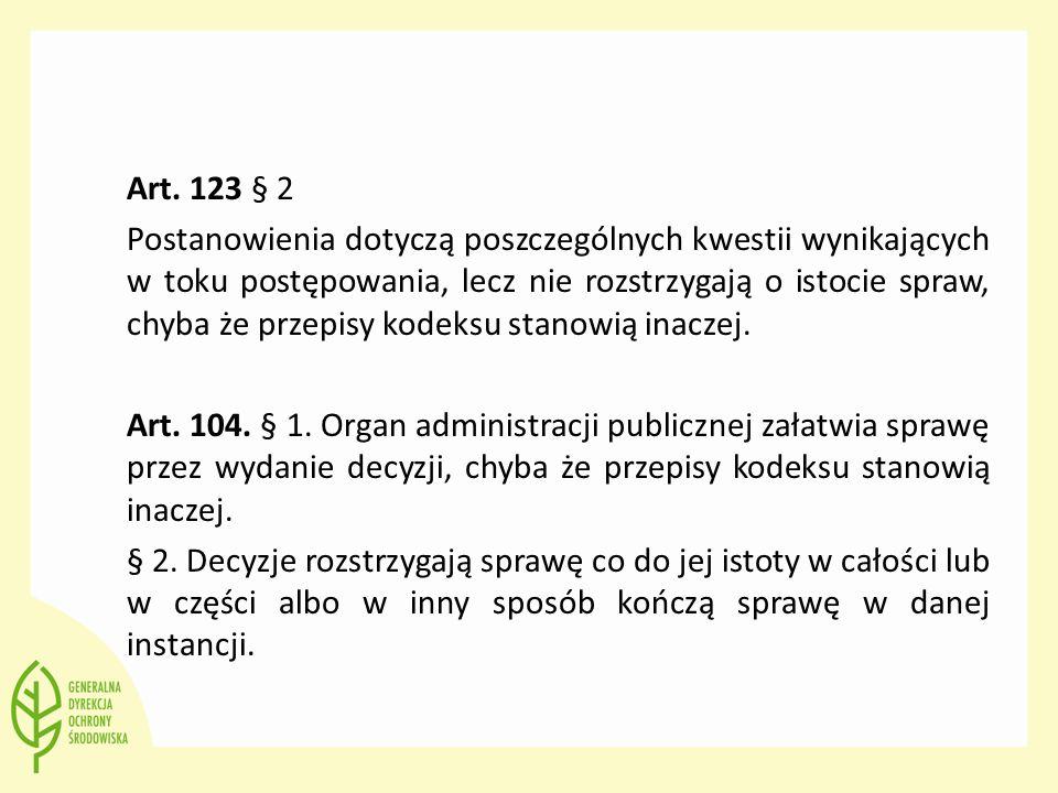 Art. 123 § 2