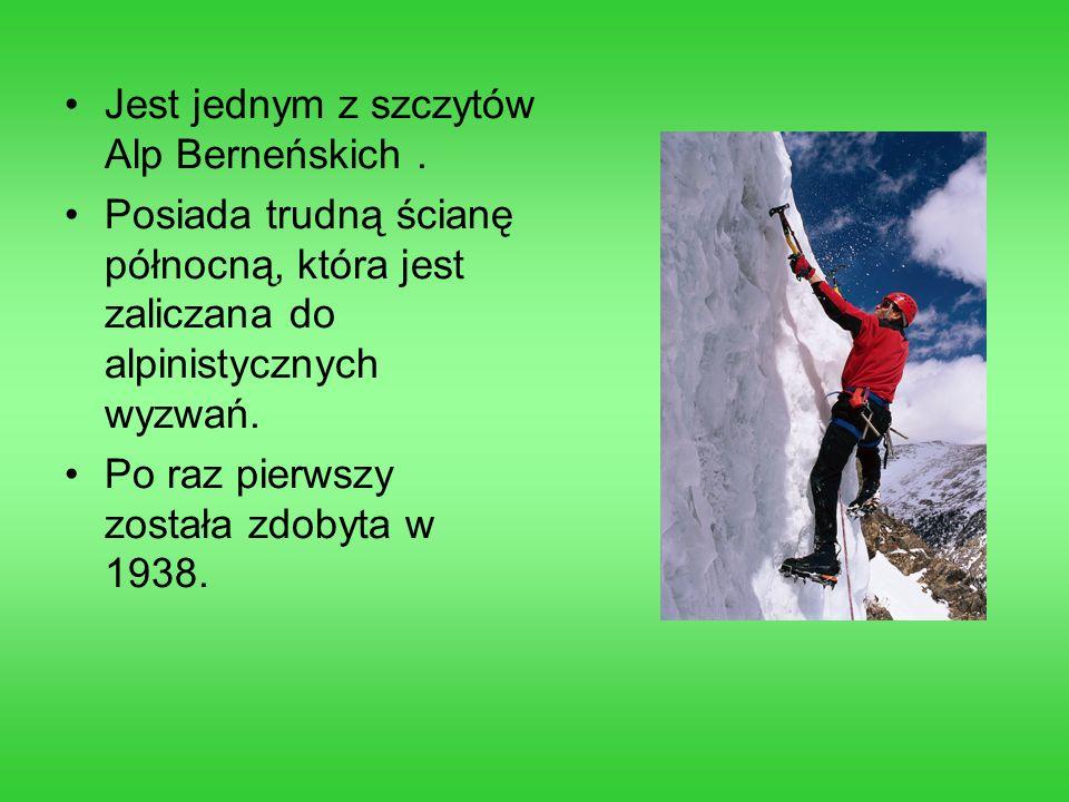 Jest jednym z szczytów Alp Berneńskich .