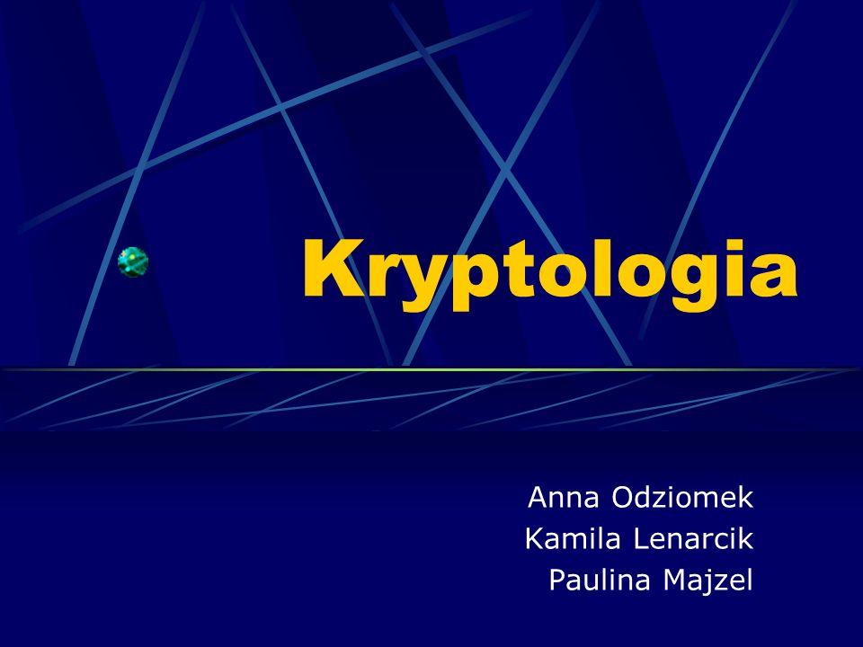 Anna Odziomek Kamila Lenarcik Paulina Majzel
