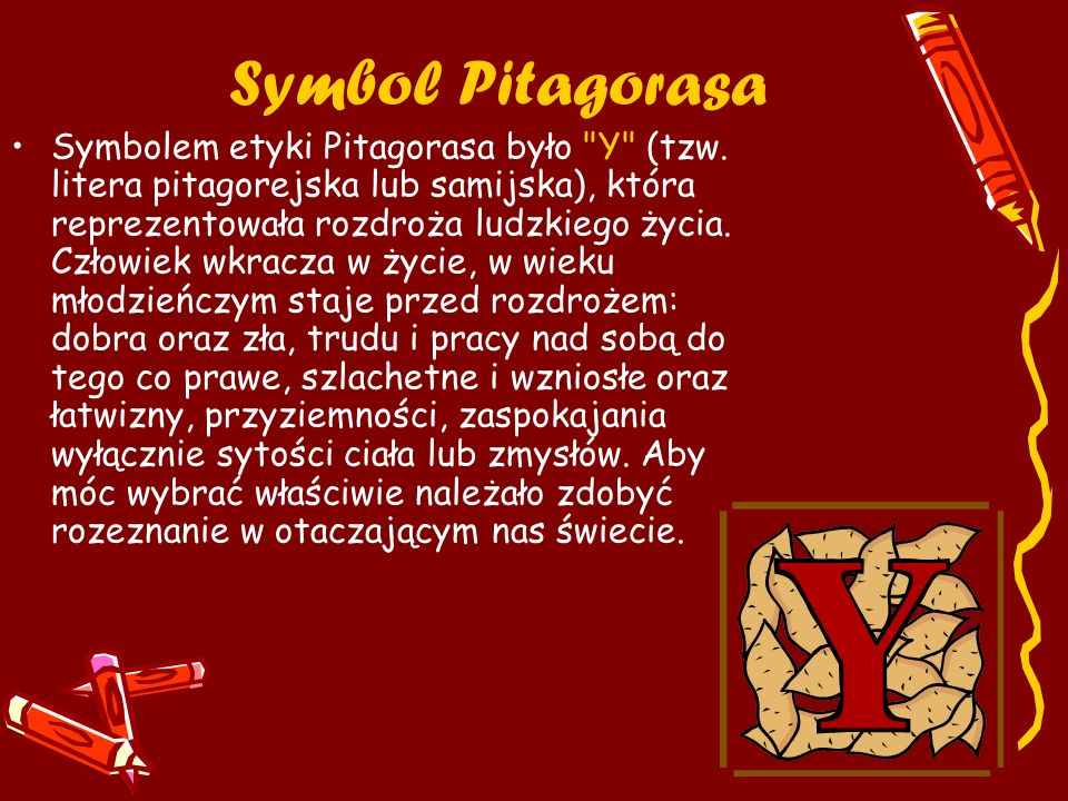 Symbol Pitagorasa