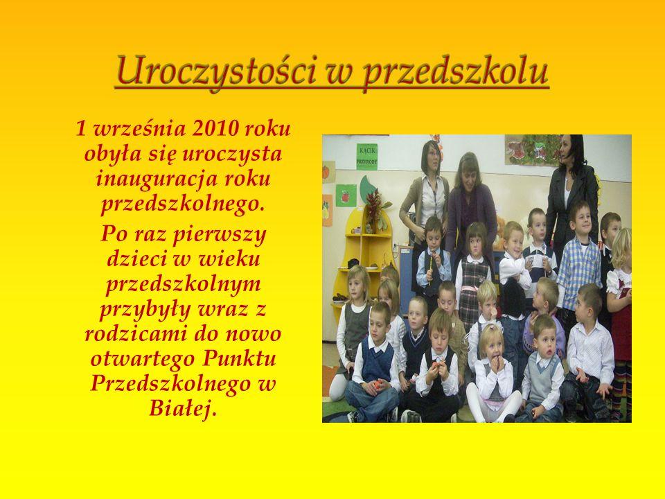 Uroczystości w przedszkolu