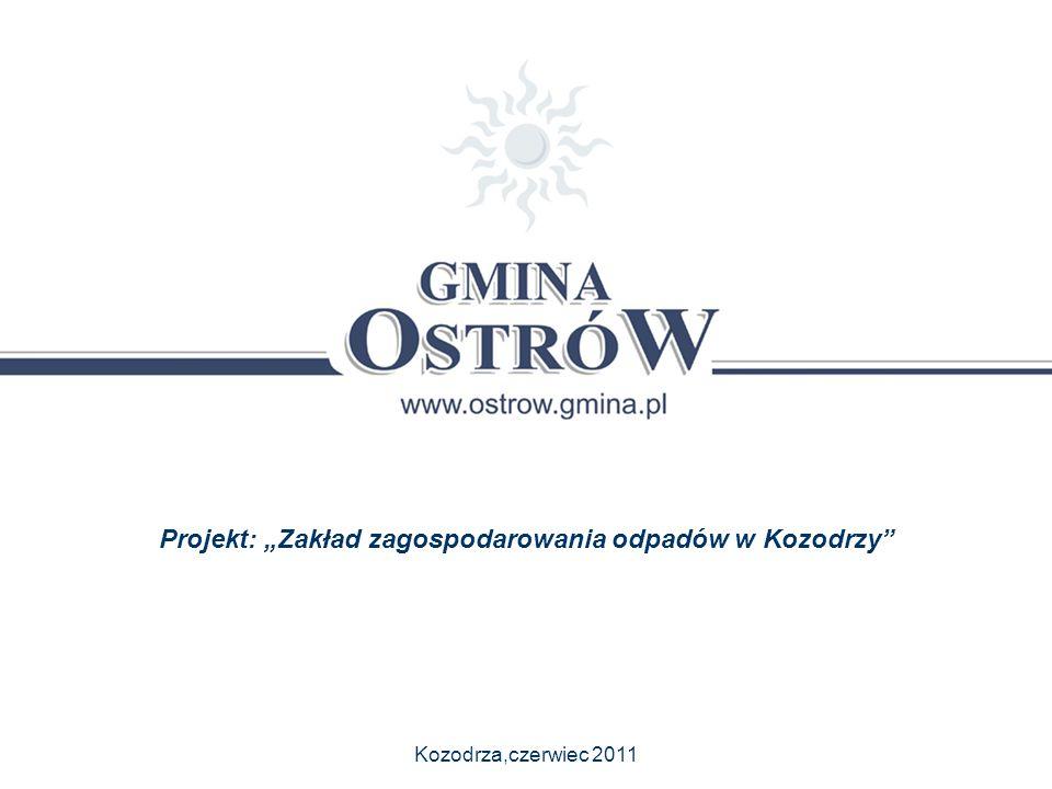 """Projekt: """"Zakład zagospodarowania odpadów w Kozodrzy"""