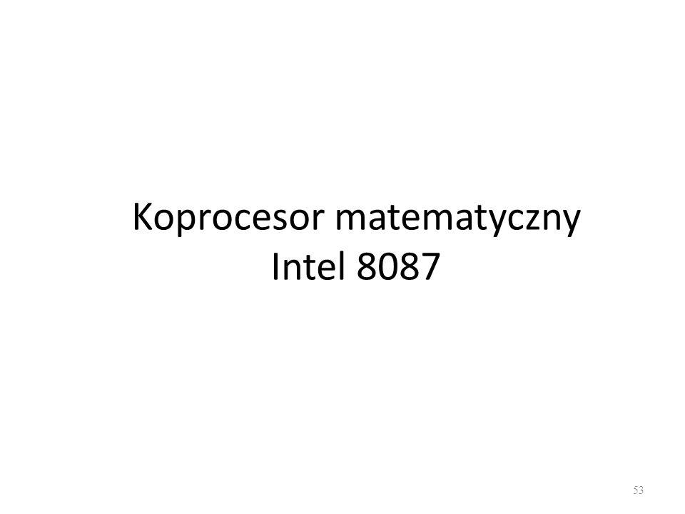 Koprocesor matematyczny Intel 8087