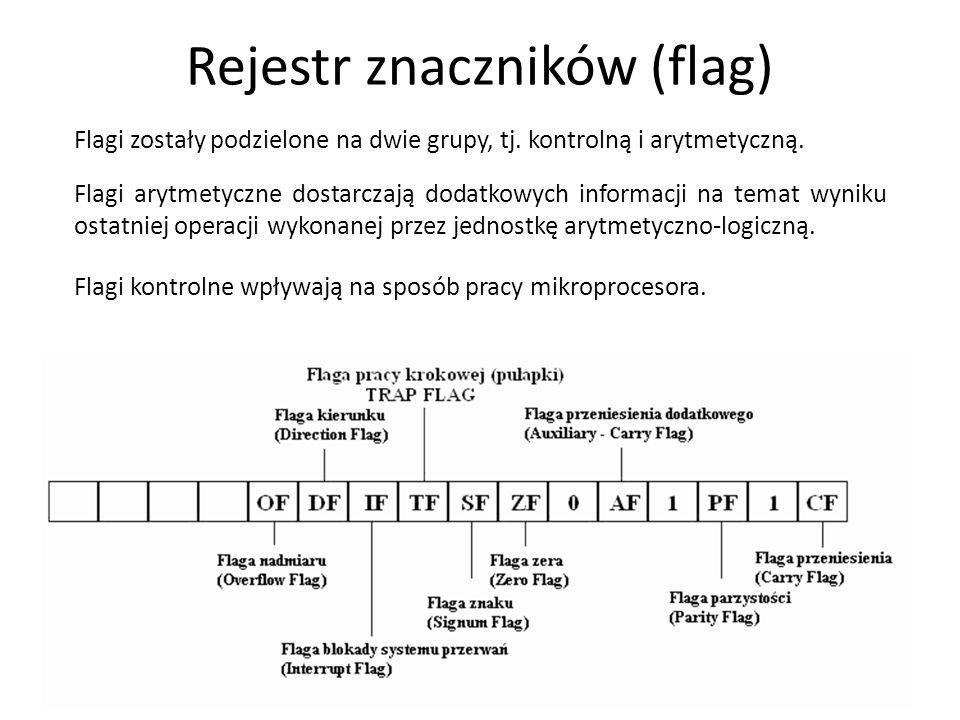 Rejestr znaczników (flag)
