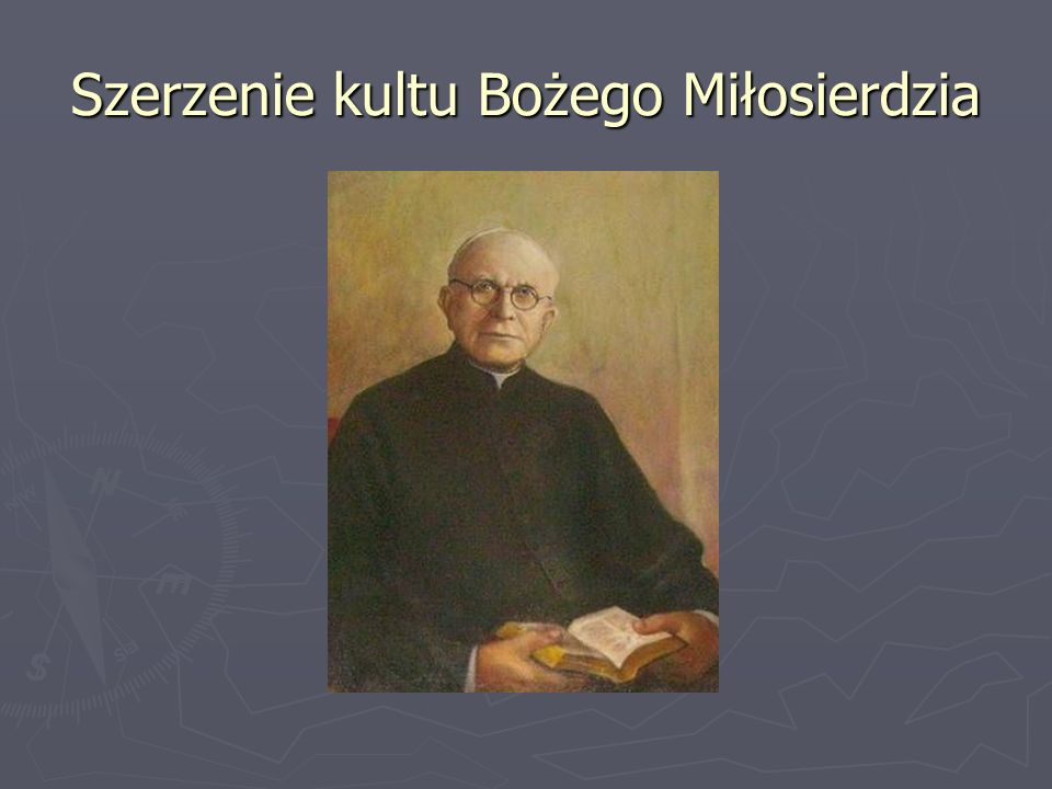 Szerzenie kultu Bożego Miłosierdzia