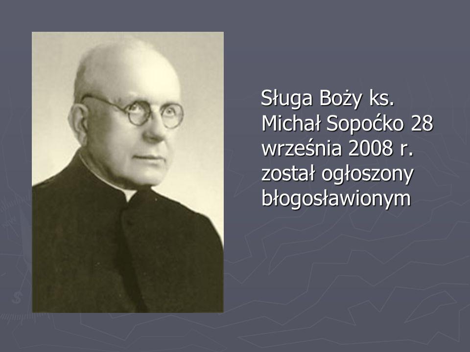 Sługa Boży ks. Michał Sopoćko 28 września 2008 r