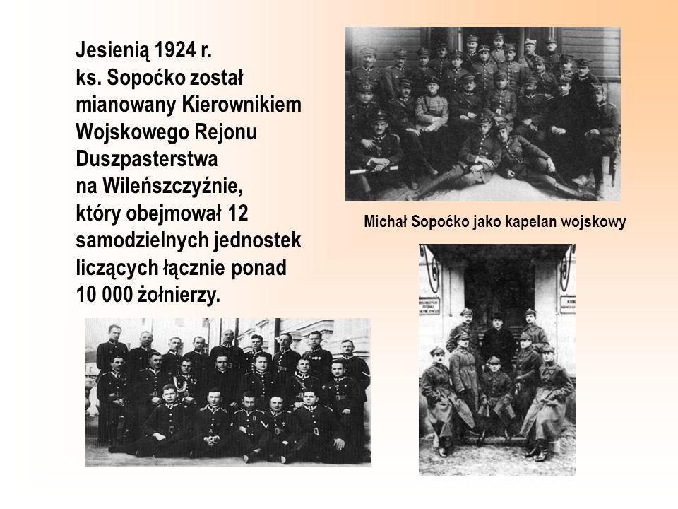 Michał Sopoćko jako kapelan wojskowy