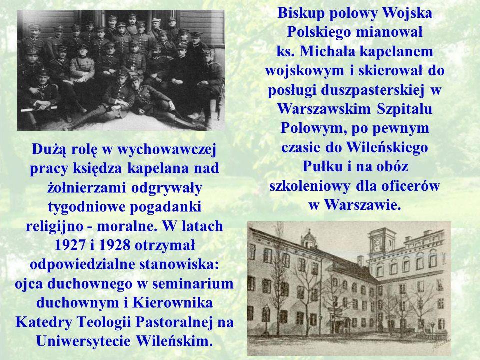Biskup polowy Wojska Polskiego mianował ks