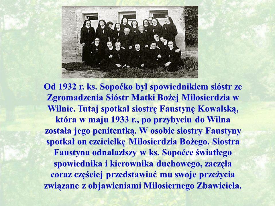 Od 1932 r. ks.