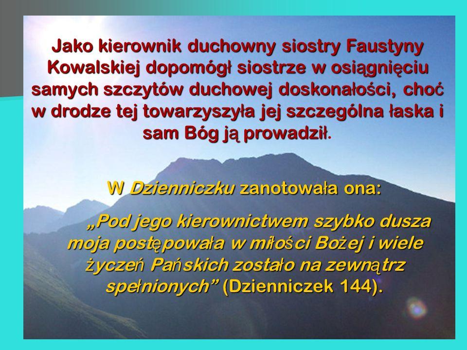 W Dzienniczku zanotowała ona: