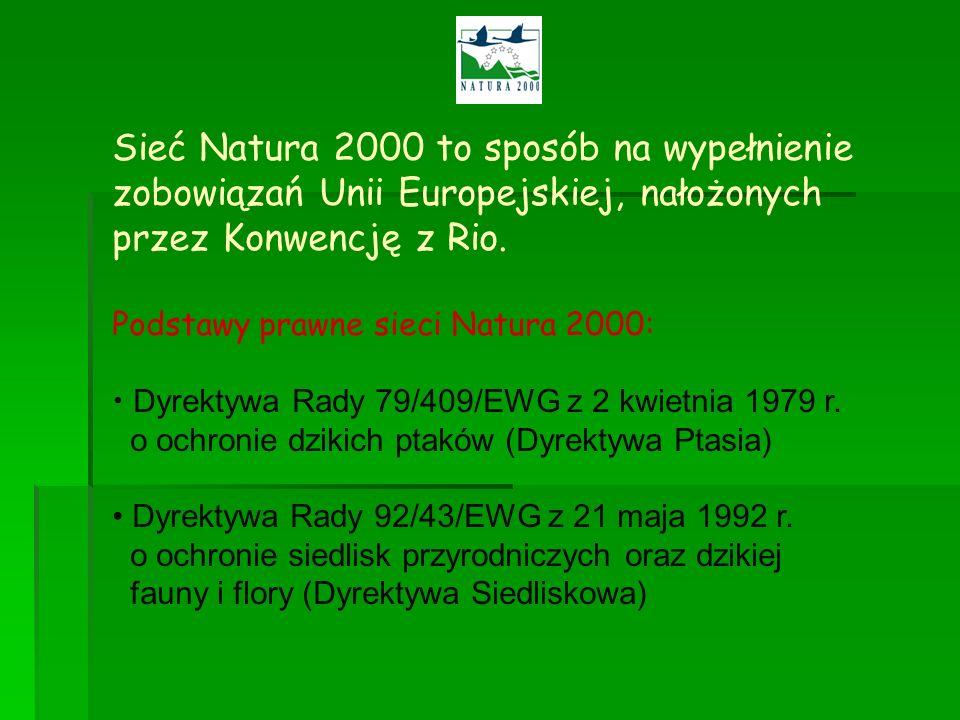 Sieć Natura 2000 to sposób na wypełnienie