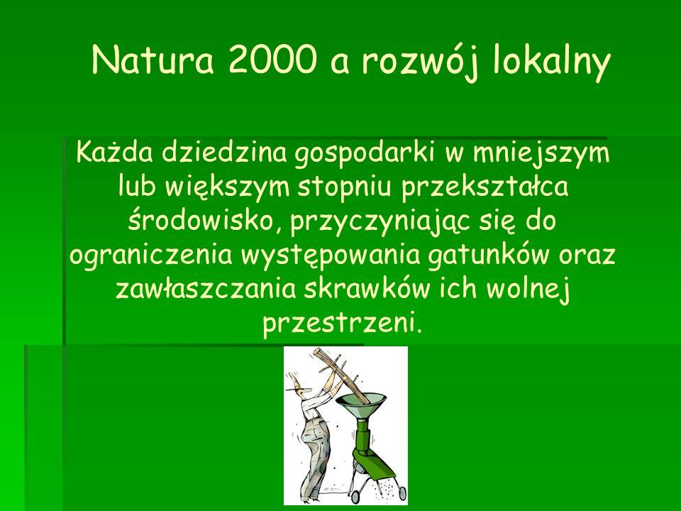 Natura 2000 a rozwój lokalny
