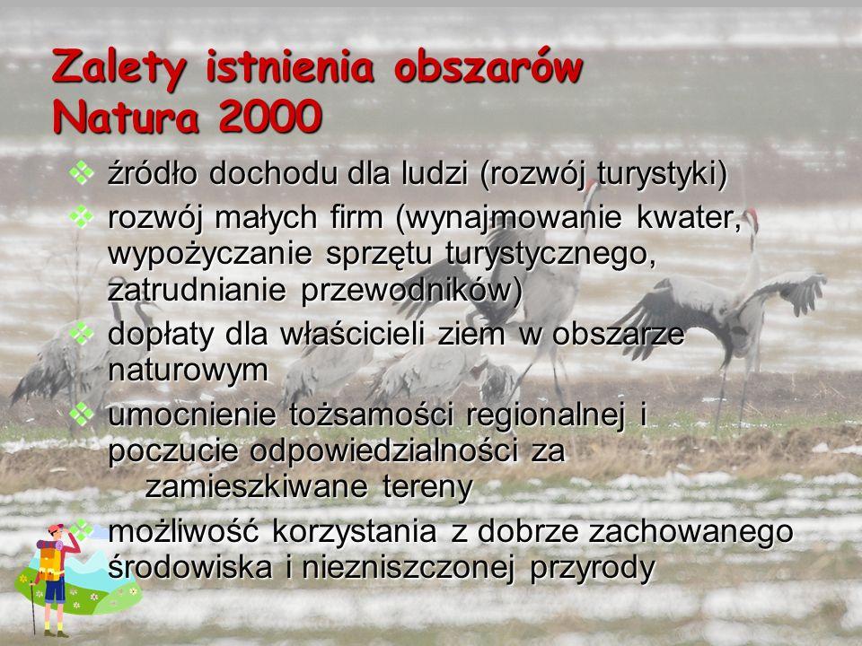 Zalety istnienia obszarów Natura 2000