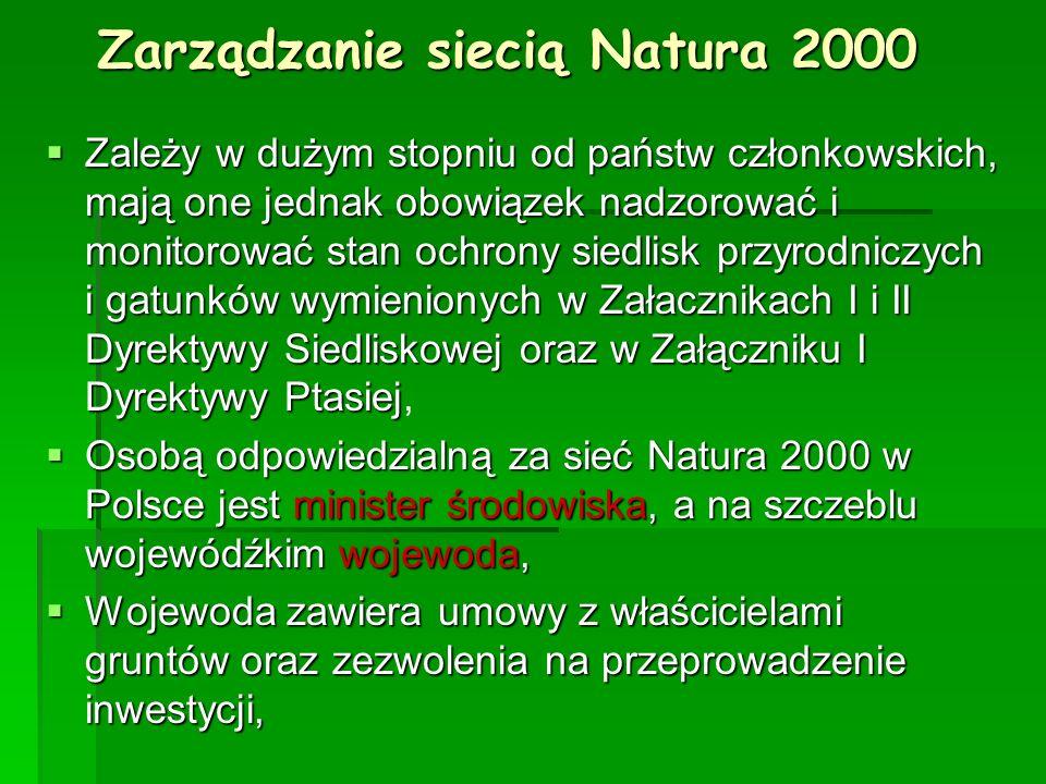 Zarządzanie siecią Natura 2000