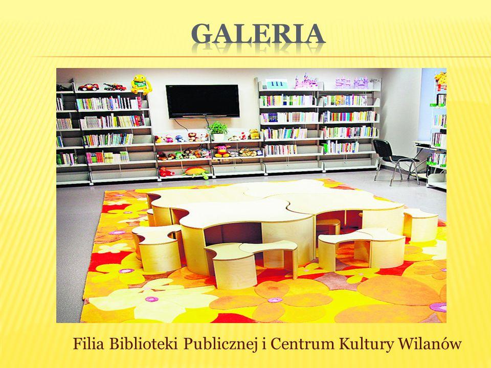 Galeria Filia Biblioteki Publicznej i Centrum Kultury Wilanów