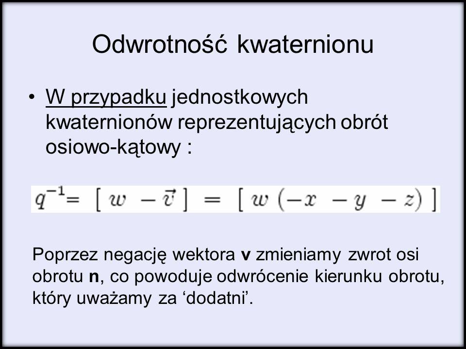 Odwrotność kwaternionu