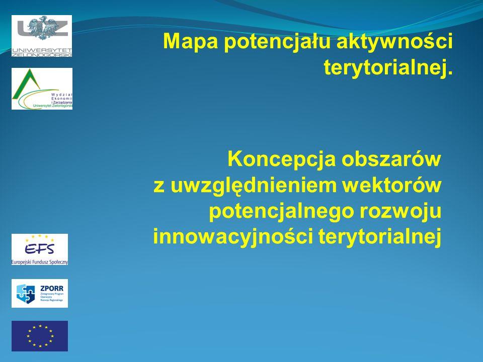 Mapa potencjału aktywności terytorialnej.