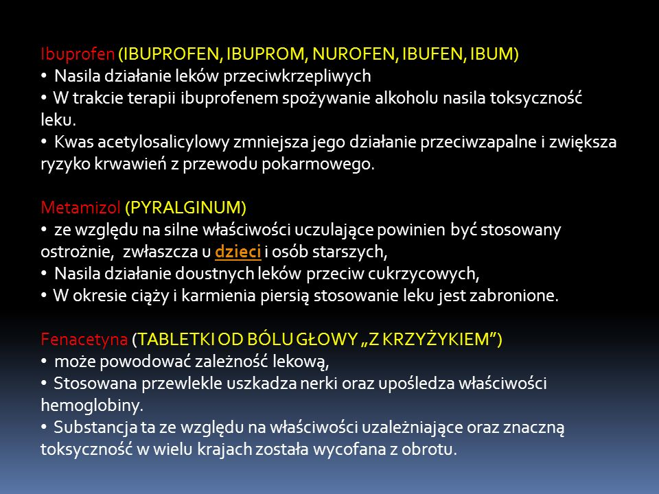 Ibuprofen (IBUPROFEN, IBUPROM, NUROFEN, IBUFEN, IBUM)