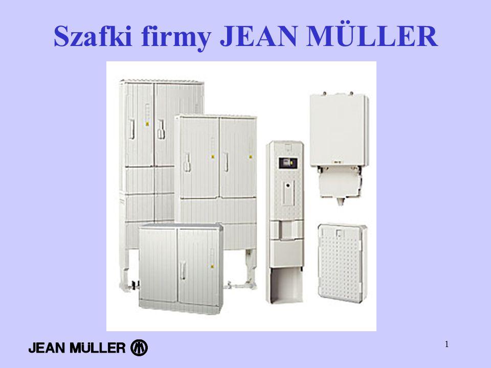 Szafki firmy JEAN MÜLLER