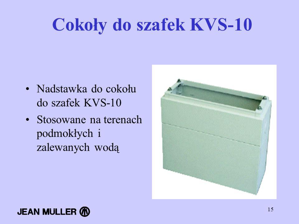 Cokoły do szafek KVS-10 Nadstawka do cokołu do szafek KVS-10